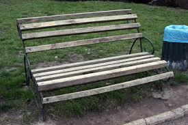 benches old bench park furniture 5193