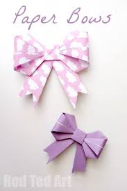 gift wrap bows origami paper bows gorgeous gift wrap idea ted s
