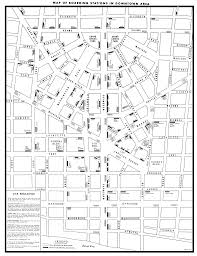 Chicago Bus Routes Map by Detroit Transit History Info 1950 Dsr Route Map