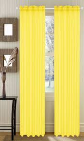 Lisette Sheer Panels by Yellow Sheer Curtains Embroidered Sheer Curtains Decorative