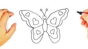 imagenes de mariposas faciles para dibujar cómo dibujar una mariposa paso a paso dibujo fácil de mariposa