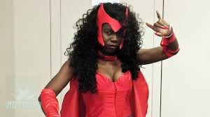 scarlet witch avengers cosplay by jay justice at nycc 2013 youtube