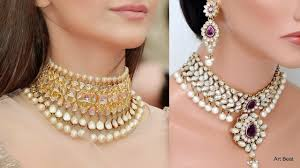 jewelry chokers necklace images Beautiful kundan choker designs gold choker necklace designs jpg