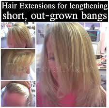 hair extensions for thinning bangs hair extensions for thin hair before and after