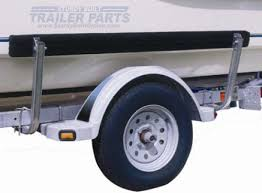 boat trailer guides with lights boat trailer guide ons bunk board side guides 5 foot long