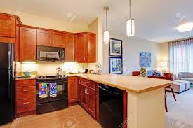 Kitchen Designs For Small Rooms Interior Chic Living Room And Kitchen Ideas For Small Spaces
