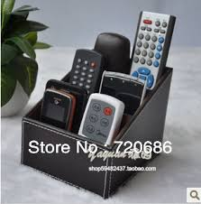Tv Remote Control Holder For Chair Leather Tv Remote Control Holder Organizer Media Storage Candy