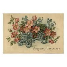 imagenes de feliz sabado vintage mejores 7 imágenes de cumple flores vintage en pinterest flores