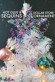 no mess glitter ornament 30 minute crafts