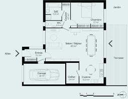 plan de maison 4 chambres plain pied plan maison 4 chambre plain pied beautiful plan maison plain pied