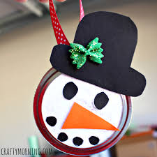 q tip snowflake ornament craft for to make crafty morning
