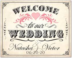 wedding welcome sign template vintage welcome sign template downloadble stationery 35613