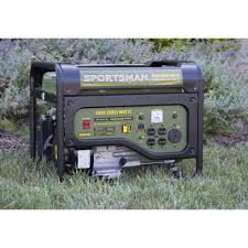 sportsman gasoline 4000w portable generator walmart com