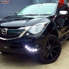 mazda bt50 mazda bt 50 kmc km651 slide wheels gloss black