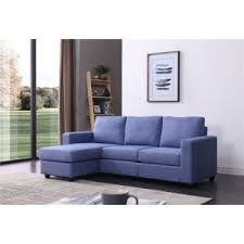 Sectional Sofa Blue Blue Sectional Sofas Hayneedle