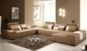 Beige Tufted Sofa by Beige Colored Sofas With Chaise Combine Grey Color Frieze Rug