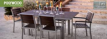 Outdoor Aluminum Patio Furniture Polywood Collection Modern Outdoor Furniture Aluminum