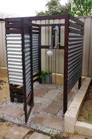 outdoor bathroom ideas best 25 outdoor shower enclosure ideas on pool shower