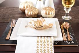 modern thanksgiving place setting oh so delicioso