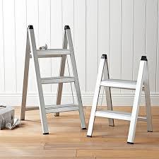 ultraslim aluminum step stool 2 step stools kitchen shelves and