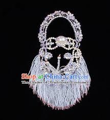 barbara grass ornaments ancient style pearl ornate kanzashi