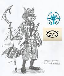 rioichi cooper sheikah warrior lozxsly slycooper
