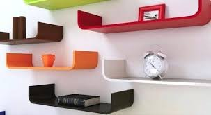 cool shelves for bedrooms curved floating shelves curved floating shelves wall shelves with