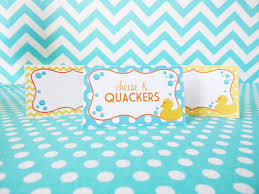rubber ducky baby shower party package u2013 kaleidoscope parties