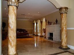 interior home columns interior decorative columns best pillars for homes indoor