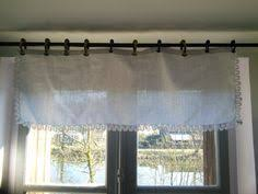 White Lace Valance Curtains French Vintage White Lace Curtain Panel Valance Daisy Pattern By