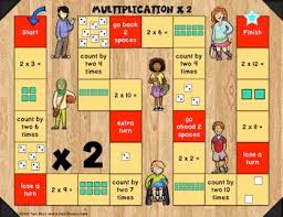 Multiplication Table Games by Game Boards For Multiplication Tables 2 To 12 Kids Edition