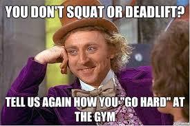 Squat Meme - how to spot the squat crossfit full auto