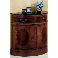 amazon com half moon console table black granite golden mahogany