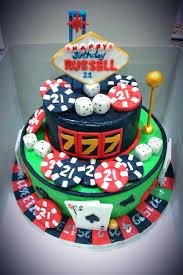 casino themed 50th birthday cake by natasha rice cakes cakes