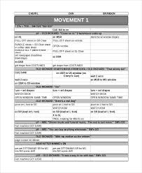 Sheets Template Excel Run Sheet Template 6 Free Word Excel Pdf Document