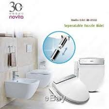Heated Toilet Seat Bidet Novita Bd Kn330 Washlet Heated Cleaning Toilet Seat Bidet 220 V