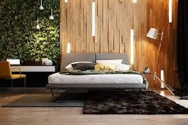 chambres modernes panneau décoratif mural en 3d et parquet bois dans 12 pièces