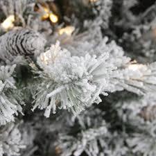 amazon com 7 5 u0027 pre lit single plug flocked victoria pine
