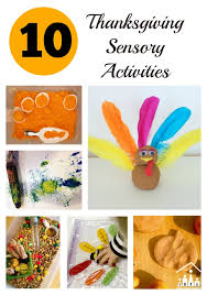 top 10 thanksgiving sensory activities