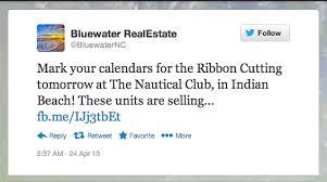 the crystal coast blog ribbon cutting at the nautical club