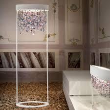 Bedroom Chandelier Decor Wonderful Chandelier Floor Lamp For Fascinating Home