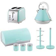 Toaster And Kettle Deals Bread Bin Set Ebay