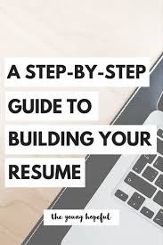 How To Update Your Resume For A Career Change Best 10 Build A Resume Ideas On Pinterest Writing A Cv Resume