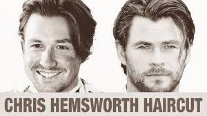 chris hemsworth hairstyles chris hemsworth hairstyle hdstyles youtube