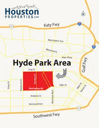 Phoenix Neighborhood Map by Hyde Park Houston Homes Real Estate Neighborhood Guide
