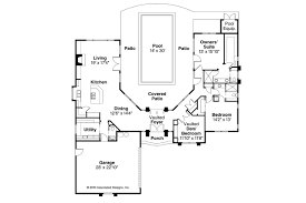 house plan with courtyard mediterranean house plans jacobsen 30 397 associated designs