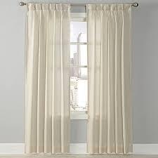Pinch Pleated Sheer Draperies Splendor Grommet Glide Pinch Pleat Sheer Window Curtain Panel