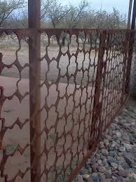fence styles metal home u0026 gardens geek