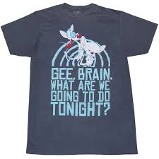 pinky and the brain pinky and the brain t shirts tops and tees animationshops com