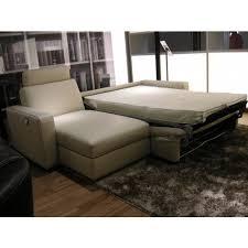 b 764 leather sectional sofa bed natuzzi editions italmoda